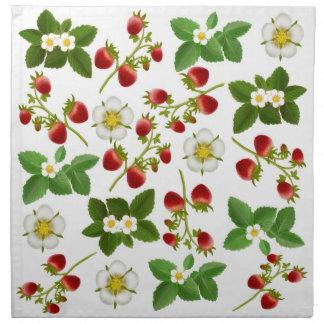 Wild Strawberries Napkin