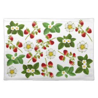Wild Strawberries Placemat