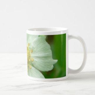 Wild Strawberry Flower Mugs