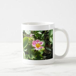 Wild Strawberry Flower Coffee Mugs