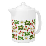 Wild Strawberry Garden Teapot