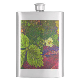 Wild Strawberry Plant Flask