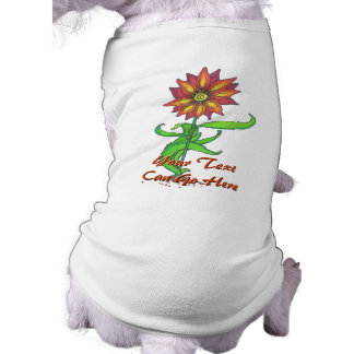 Wild Stylized Flower Pet Clothing