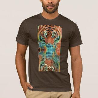 Wild Sumatran Tiger Big Cat Wildlife Tee