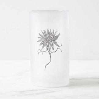 Wild Sunflower Digital Art Mug