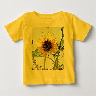 Wild Sunflowers Baby T-Shirt