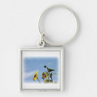 Wild Sunflowers Keychain