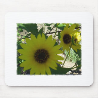 Wild Sunflowers Mouse Pad