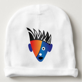 Wild. Super cool, crazy and funny baby hat