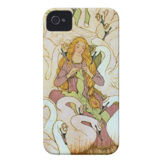 Wild Swans Fairy Tale Case-Mate iPhone 4 Cases