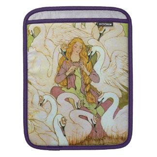 Wild Swans Fairy Tale iPad Sleeve