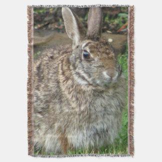 Wild Sweet Bunny Throw