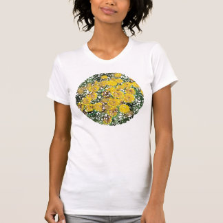Wild tansy flowers tee