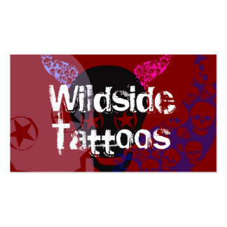 Wild Tattoos Business Cards