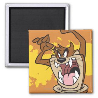 Wild TAZ™ 2 Inch Square Magnet
