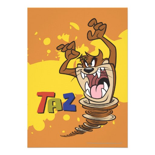 Wild TAZ™ Invites