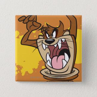 Wild TAZ™ Pinback Button