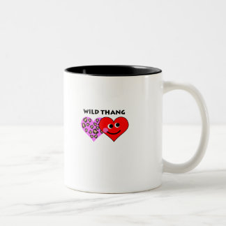 wild thang Two-Tone coffee mug