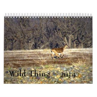 Wild Thing 2014 Calendar