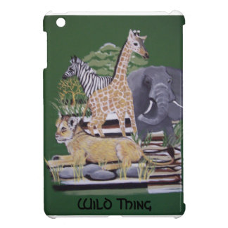 Wild Thing African Animals painting by bbillips Case For The iPad Mini