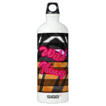 Wild Thing Animal Print Water Bottle