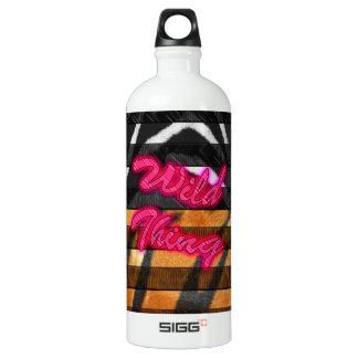 Wild Thing Animal Print Water Bottle