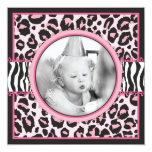 Wild Thing Birthday Square 1 Card