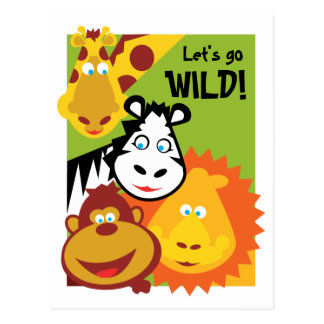 Wild Thing - Card - Birthday Invite