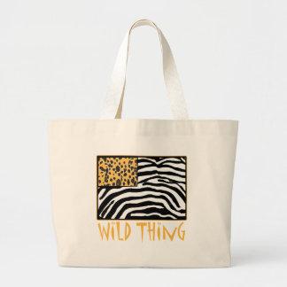 Wild Thing! Cool Animal Print design Tote Bag