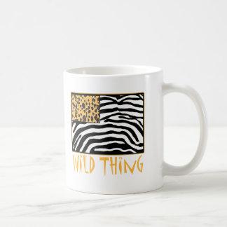 Wild Thing! Cool Animal Print design Coffee Mug