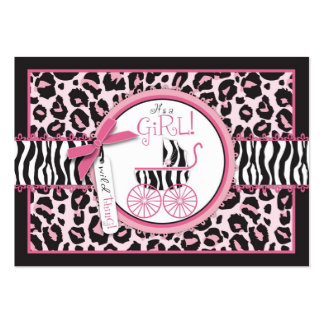 Wild Thing Gift Tag Business Card Templates