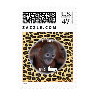 Wild Thing Great Ape Postage