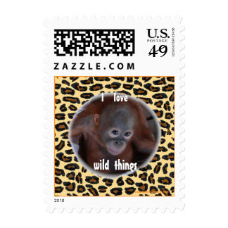 Wild Thing Great Ape Stamps