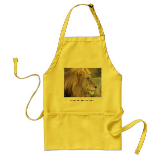 WILD THING - LION ADULT APRON