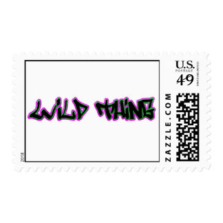 Wild Thing Postage Stamp