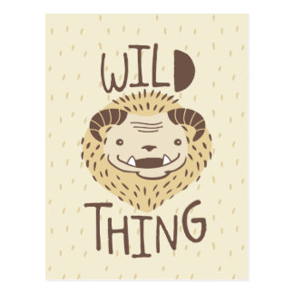 Wild Thing Post Card