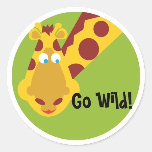 Wild Thing - Sticker - Giraffe