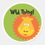 Wild Thing - Sticker - Lion