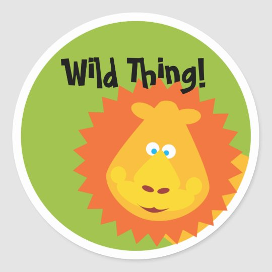 Wild Thing - Sticker - Lion