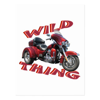Wild Thing Trike Postcards