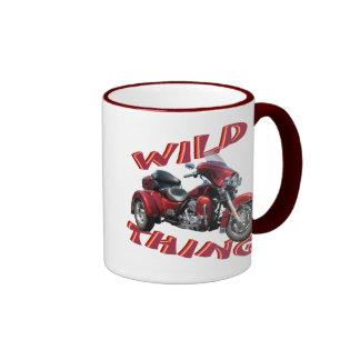 Wild Thing Trike Ringer Coffee Mug