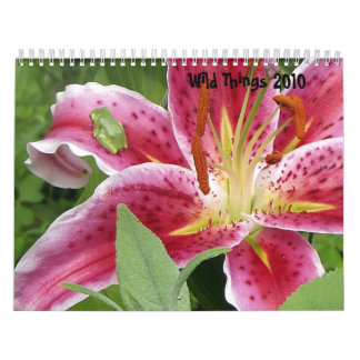 Wild Things 2010 Nature Calendar