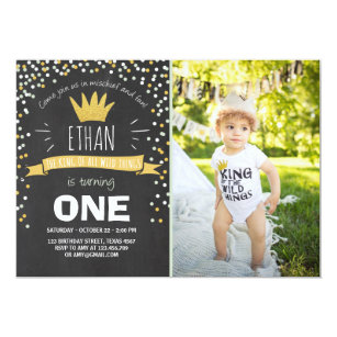 Wild Things Invitations Announcements Zazzle
