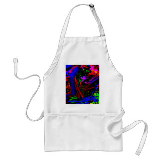 wild things, colors in revolt adult apron