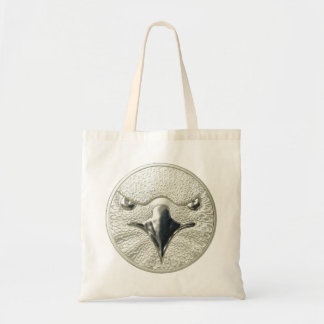 WILD THINGS: Gold Bitcoin Cent Eagle - Tote Bag