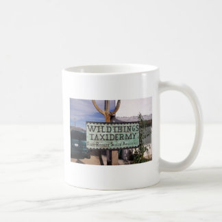 Wild Things Taxidermy Advertisement Coffee Mug