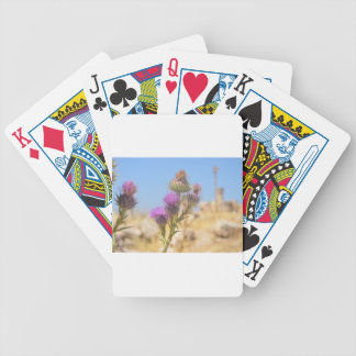 Wild Thistle Playing Cards