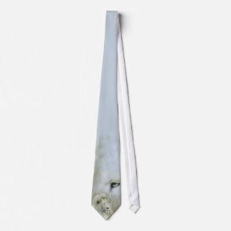 Wild Ties - White Lion Art Tie