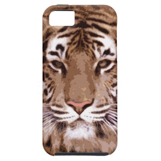 Wild Tiger Artwork iPhone 5 Cover