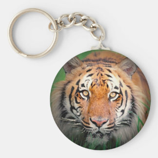 Wild Tiger Artwork Keychain